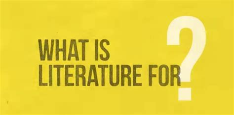 what is literature what is literature for the school of explains
