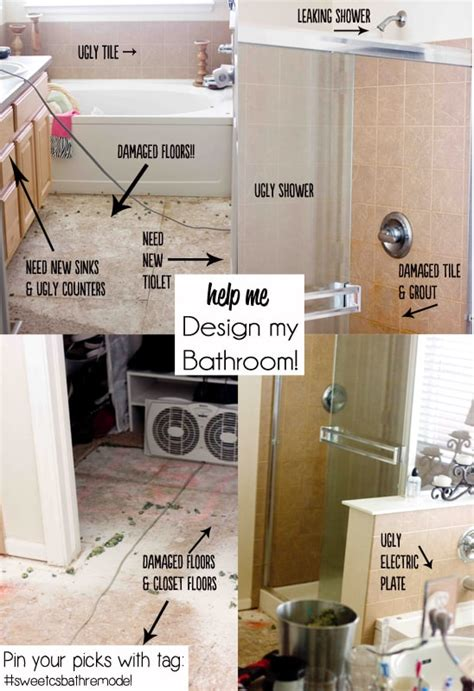 help me design my bathroom i need your help sweetcsbathremodel sweet c s designs