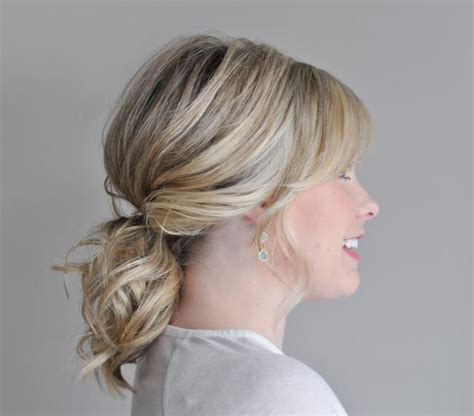 17 best images about hairsytyles and color on pinterest perfect ponytail cute short hair and bobs