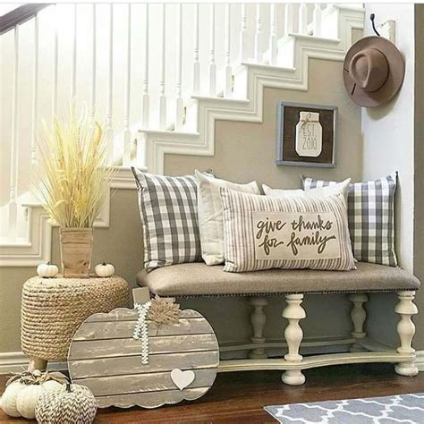 Pottery Barn Christmas Pillows 28 Welcoming Fall Inspired Entryway Decorating Ideas