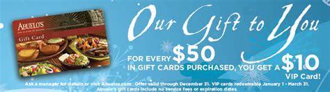 Abuelos Gift Card - abuelos gift card lamoureph blog
