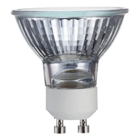 Lu Led Philips 25 Watt philips 25 watt halogen mr16 gu10 base flood light bulb