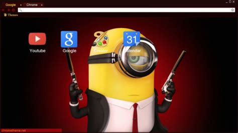 theme chrome minions 10 best images about despicable me chrome themes on