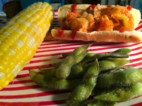 edamame for dogs vegetarian koreatown dogs with corn and grilled edamame