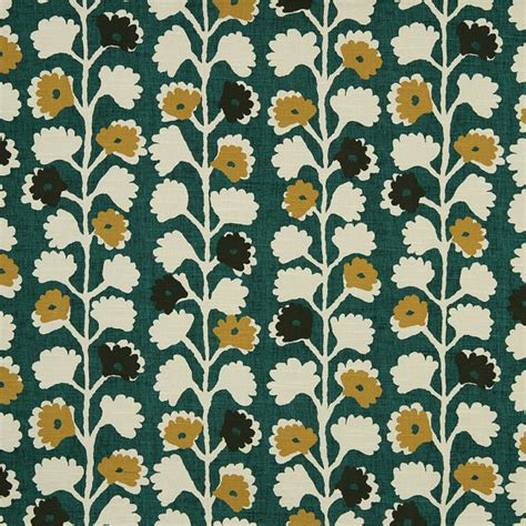 Floral Upholstery Fabrics by Emerald Green Floral Upholstery Fabric For Furniture