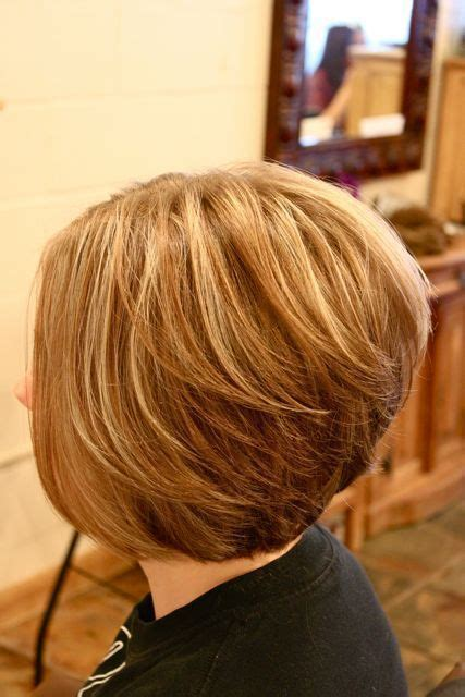 hair styles with front and stacked back stacked bob hairstyles back view nails makeup pinterest