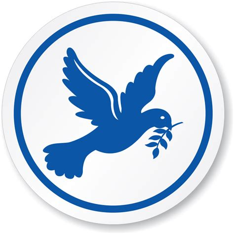 Circle Dove dove peace symbol iso circle sign free shipping sku is