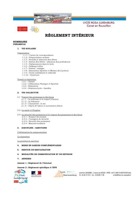 modele reglement interieur association sportive 28