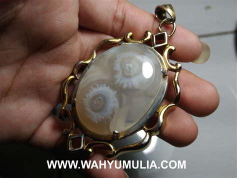 Batu Mustika Angka Delapan Cerah Asli liontin batu akik angka delapan 8 asli kode 536 wahyu mulia
