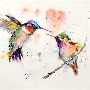 hummingbird watercolor tattoo watercolor hummingbirds tattoo watercolor tattoos pinterest
