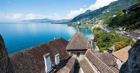 Switzerland Travelogue: Chateau de Chillon (Chillon Castle) Q Cup