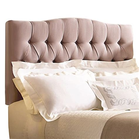 buy tufted headboard buy safavieh axel tufted full headboard in taupe from bed