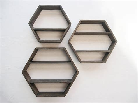 hexagon shelves house apt room