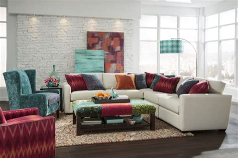 what s new wednesday 7511 sectional sofa the accent wall