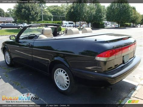 saab convertible black 1996 saab 900 s convertible black gray photo 8
