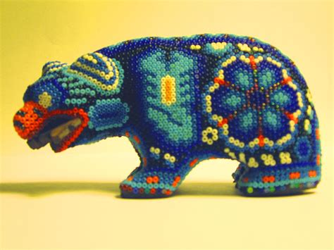 ruminations on and beaded of the huichols