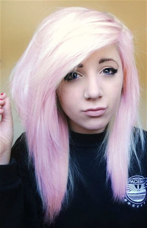 light pastel pink hairstyles color inspiration strayhair