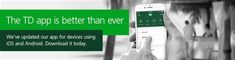 td bank phone number canada td app electronic banking td canada trust