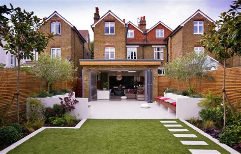backyard ideas uk terraced house garden ideas uk garden post