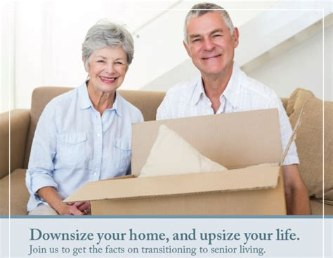 downsizing your life april 23 event downsize your home and upsize your life