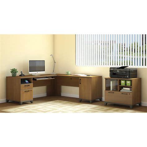 computer desks for sale amazon amazon com achieve l shaped desk with hutch kitchen dining