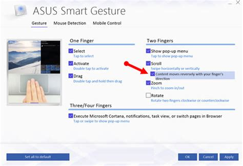 Asus Laptop Touchpad Not Scrolling Windows 10 asus touchpad driver windows 10 scroll