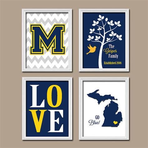 of michigan wolverine blue from trm design