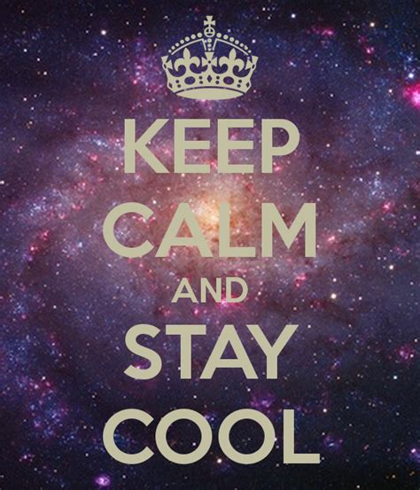 Topi Stay Calm And Keep Cool keep calm and on keep calm keep calm and