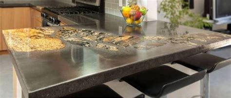 What Type Of Concrete To Use For Countertops by Top Kitchen Countertop Materials Pros And Cons