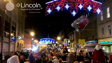 lincoln christmas lights switch on 2013 youtube