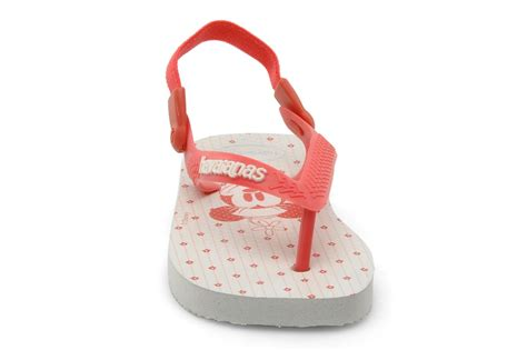 Clutch Mickey Twee by Havaianas Baby Mickey Minnie Rood Slippers Bij Sarenza