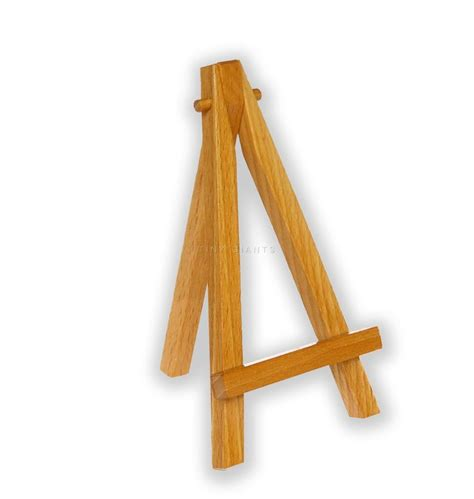 easel stand small mini miniature wooden easel artist stand foldable 5 quot x3 quot many colors