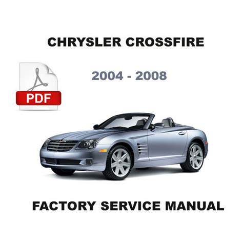 2004 2008 chrysler crossfire factory service repair manual wiring diagram service repair
