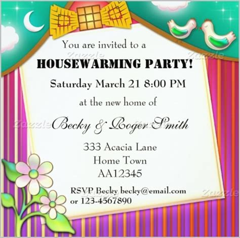 housewarming invitation card template housewarming invitations wording template resume builder
