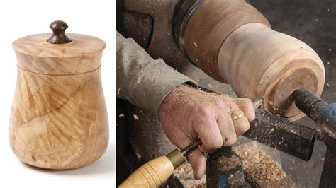 where to find wood for woodworking turn a lidded canister finewoodworking