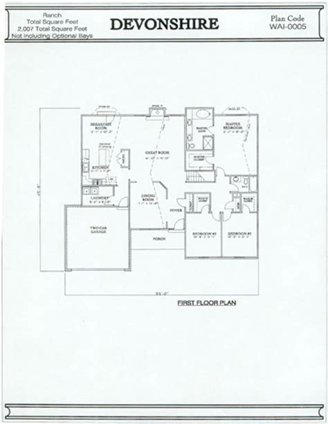 one devonshire floor plan devonshire floor plan home design