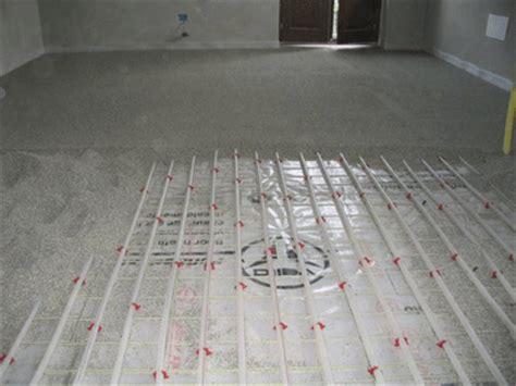 tipi di riscaldamento a pavimento posa su sabbia con riscaldamento a pavimento