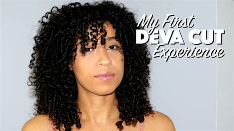 the deva cut black hair my deva cut experience natural curly hair youtube