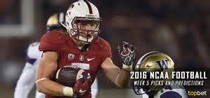 2016 ncaa football week five predictions picks and preview sports