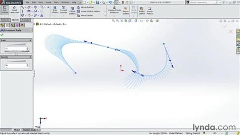 solidworks tutorial glasses drawing splines in a sketch