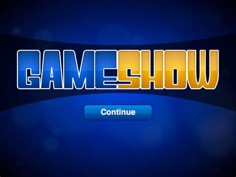 game show templates choice image templates design ideas