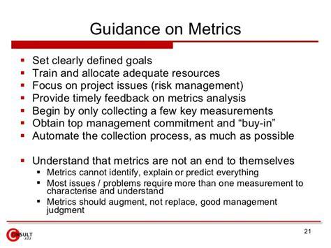 project metrics template project metrics measures