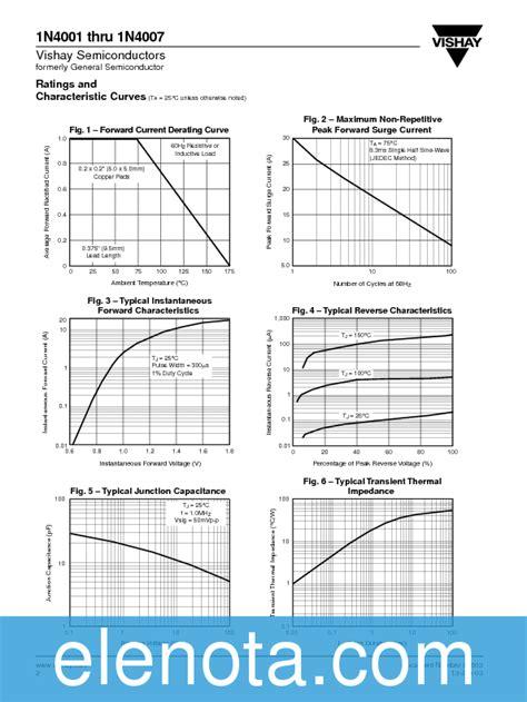 datasheet of diode 4007 datasheet of diode 4007 28 images 1n4007 datasheet silicon rectifier diodes 1n4001 4007 fci