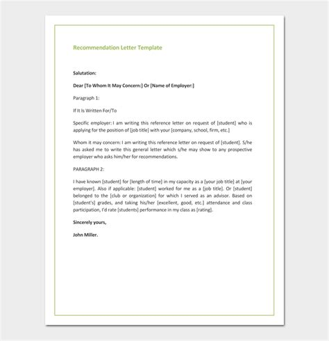 Promotion Letter Subject Recommendation Letter For Promotion Free Sles Formats