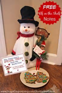 On The Shelf Treats by On The Shelf Ideas Mrs Claus Sends Treats