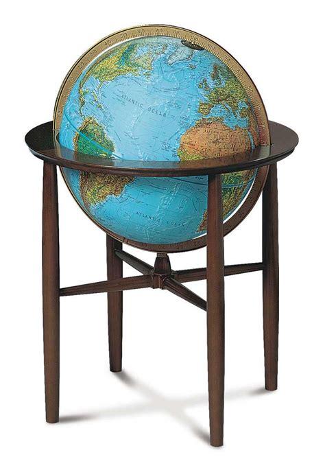 Floor Globe by Blue Illuminated Floor Globe By Replogle Globes