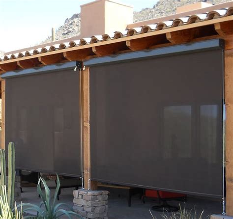 Porch Blinds by Blinds Outdoor Porch Blinds Outdoor Roller Shades For