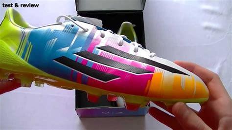 imagenes de tenis adidas adizero f50 unboxing adidas f50 adizero multicolor messi colorway