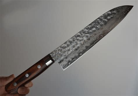 japanese kitchen knives australia zen pou japanese santoku knife hammered damascus