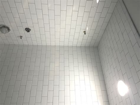 how to tile a shower ceiling bathroom tiles to ceiling or not luxury green bathroom
